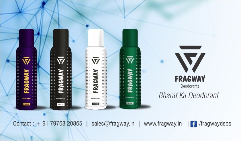 Fragway Kick Starts Deodorant Products in Indian Market